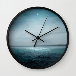 Sea Under Moonlight Wall Clock