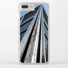 Skyscraper Kio Tower Madrid Clear iPhone Case