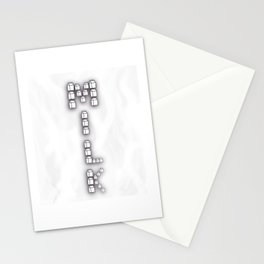 Milk Carton Stacked Stationery Cards