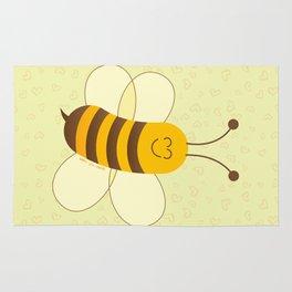 Cute Baby Bee Rug