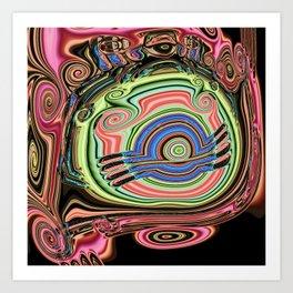 Tadpole B Art Print