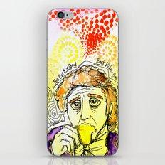 Willy Wonka Drinks His Tea - Gene Wilder  iPhone & iPod Skin