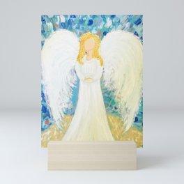 Beachy Angel Mini Art Print