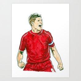 Gerrard Art Print