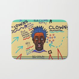 Rich Clowns Are Back In Style Bath Mat
