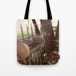 Found Country Fence Tote Bag