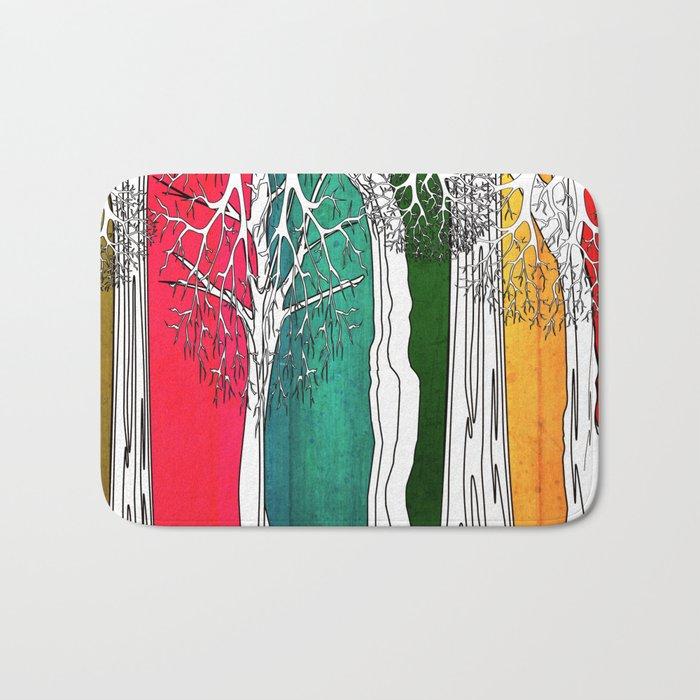 Color Forest Bath Mat