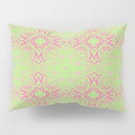 flower power: raspberry & lime Pillow Sham