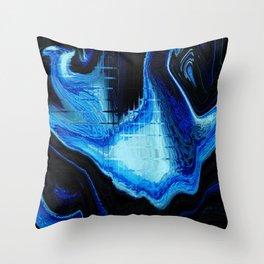 Blu Ra Throw Pillow