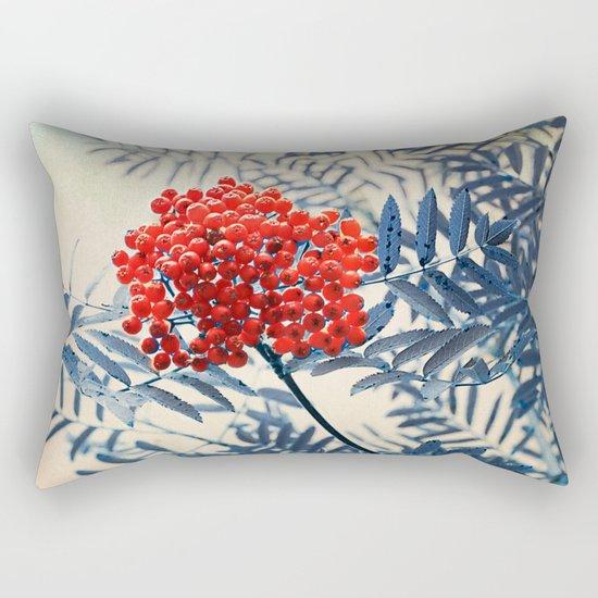 Rowan Berries Rectangular Pillow