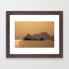 Halong II Framed Art Print