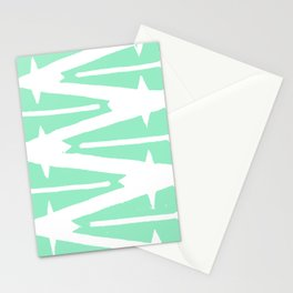 Green Tribal Stationery Cards