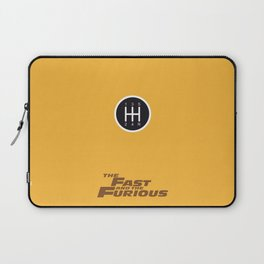 Lab No. 4 - The Fast and the Furious Movie Inspire Quotes Poster Laptop Sleeve
