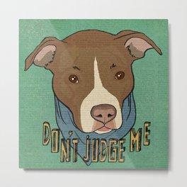 Pit bull Pride Metal Print