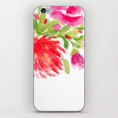 Watercolor Florals iPhone & iPod Skin