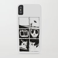 death iPhone & iPod Cases featuring Death by Lee Grace Design and Illustration