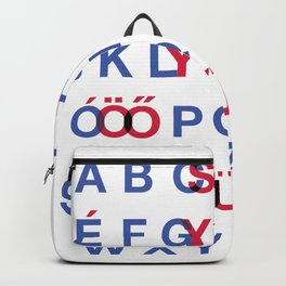 The Hungarian ABC Backpack