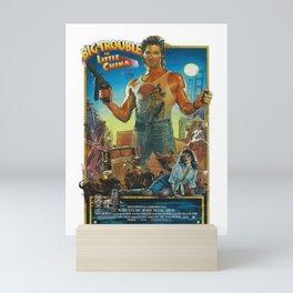 Big Trouble 80s Movie Poster Artwork, Films Posters, Prints, Tshirts, Bags, Men, Woman, Kids Mini Art Print