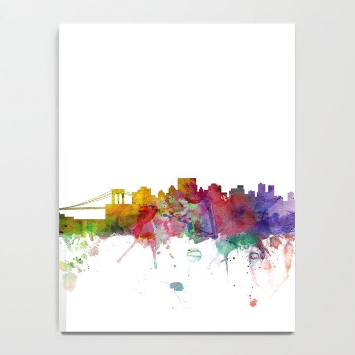 New York Skyline Cityscape Notebook