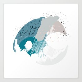 Muffin mess pt. 2 Art Print