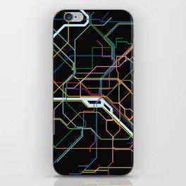 Paris Subway Map iPhone Skin
