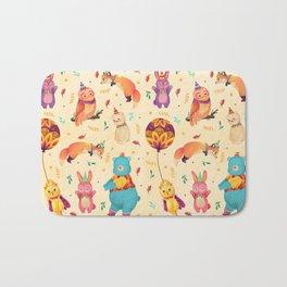 Party Animals Bath Mat