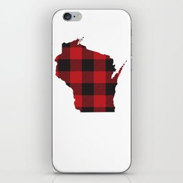 Wisconsin Plaid Flannel iPhone Skin