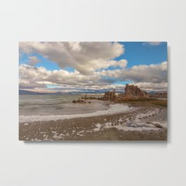 Mono Lake Shore Metal Print
