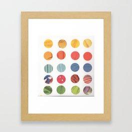 dots 1 Framed Art Print
