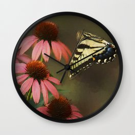 Summer Flight Wall Clock