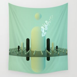 MARIO MOUNTAINS Wall Tapestry