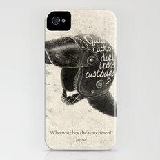 Quis custodiet ipsos custodes? iPhone (4, 4s) Slim Case