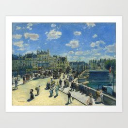 Pont Neuf, Paris Art Print