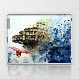 """The castle in the sky"" Laptop & iPad Skin"