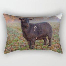 Foggy Goat Rectangular Pillow