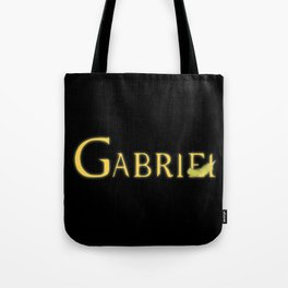 Gabriel with Feather Tote Bag