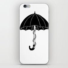 Secret parasol iPhone & iPod Skin
