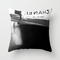 halo Throw Pillows featuring Halo by Parul Sharma