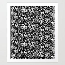 Joshua Tree Designs by CREYES Art Print