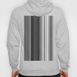 Black White Gray Thin Stripes Hoody