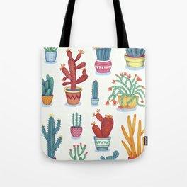 Cactus Poster Tote Bag