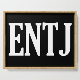 ENTJ Personality Type Serving Tray