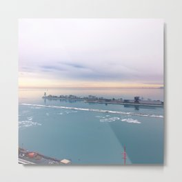 Chicago Pier Metal Print
