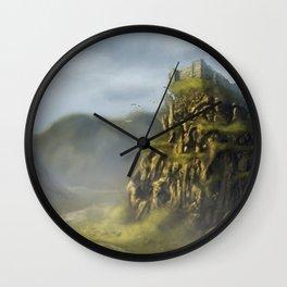 Castle Moat Wall Clock