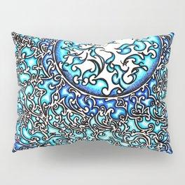 Blue Fire (2) Pillow Sham