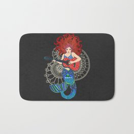 Musical Mermaid Bath Mat