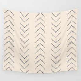 Navy arrow chase Wall Tapestry