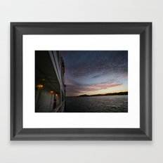 Lost in Mexico Framed Art Print