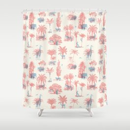 Where they Belong - Pastel Colors Shower Curtain