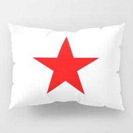 Red Star Pillow Sham